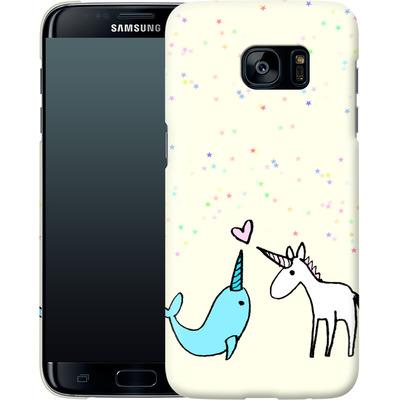 Samsung Galaxy S7 Edge Smartphone Huelle - Two Horns von caseable Designs