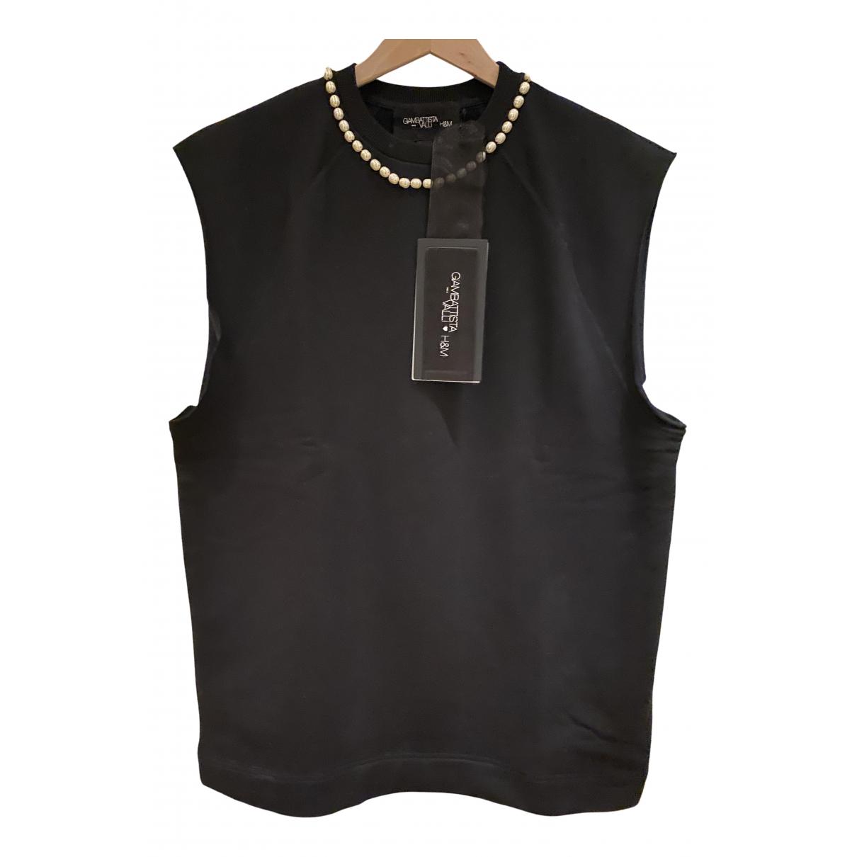 Giambattista Valli X H&m N Black Cotton  top for Women M International