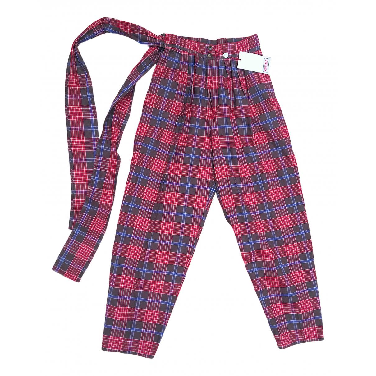 Pantalon recto de Lino Non Signe / Unsigned
