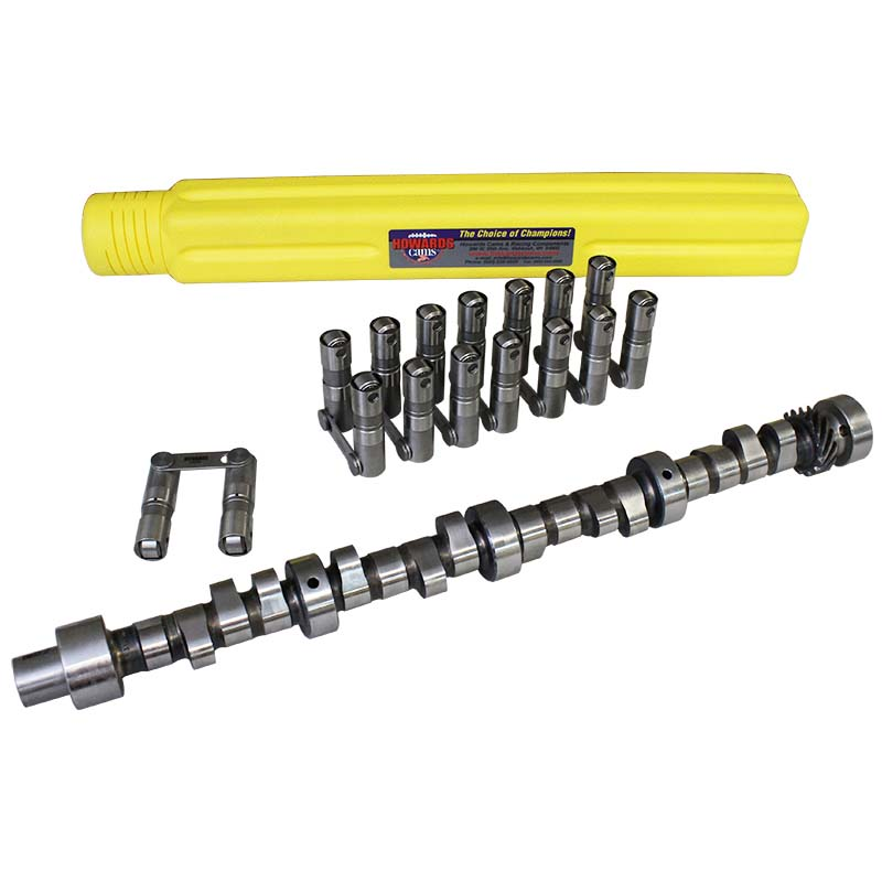 Hydraulic Roller 4/7 Swap Camshaft & Lifter Kit; 1955 - 1981 Pontiac 265-455 2000 to 6200 Howards Cams CL414345-10 CL414345-10