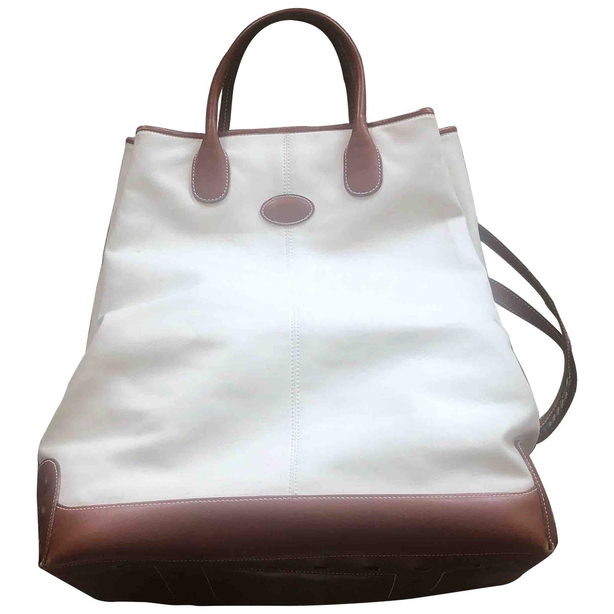 Tod's \N White Cloth handbag for Women \N