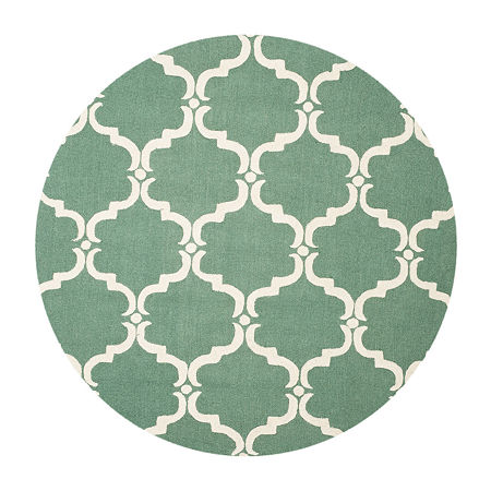 Safavieh Ronan Geometric Hand Tufted Wool Rug, One Size , Green