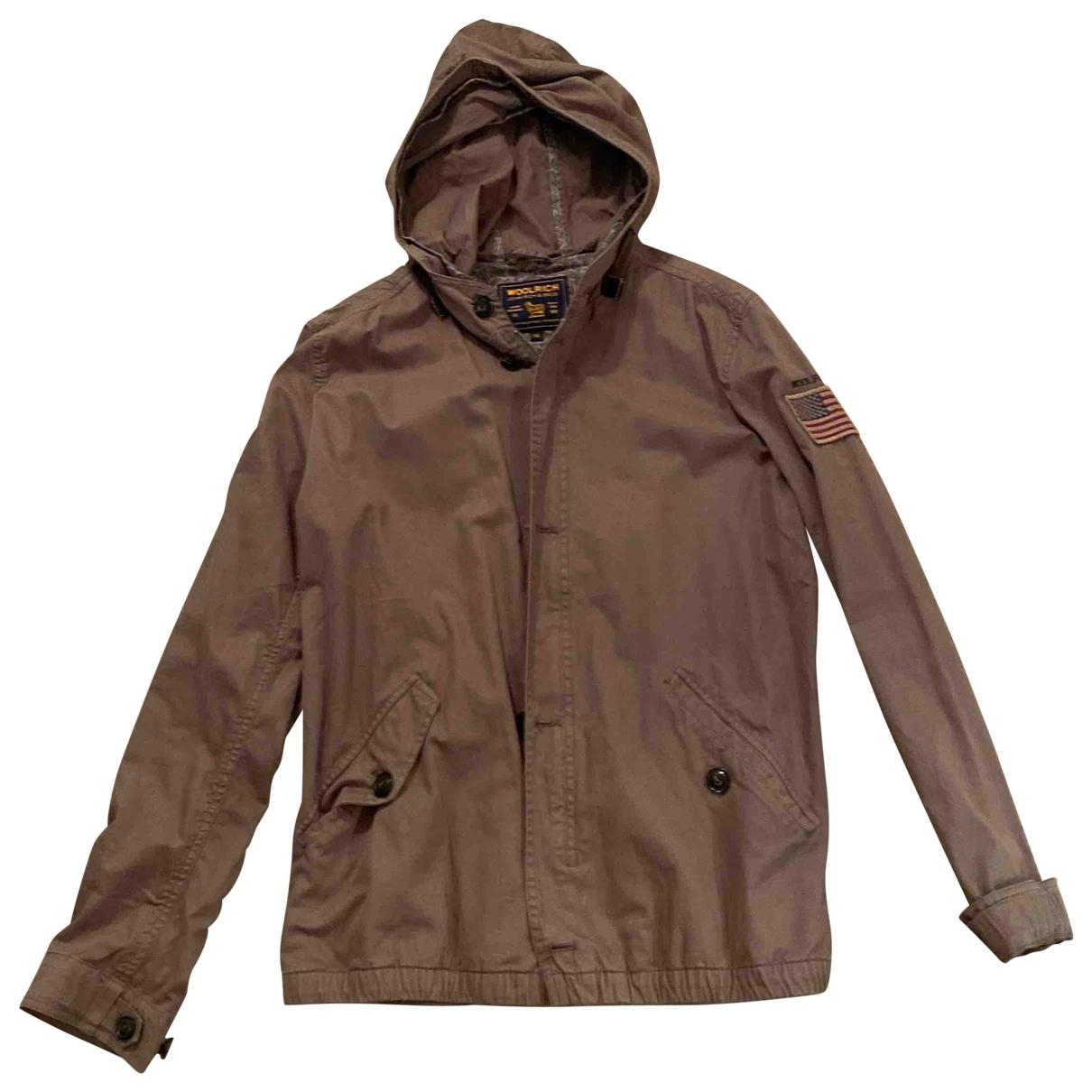 Woolrich - Blousons.Manteaux   pour enfant en coton - vert