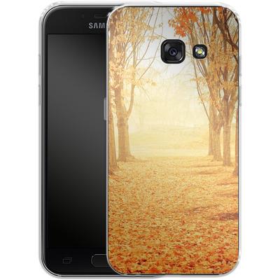 Samsung Galaxy A3 (2017) Silikon Handyhuelle - Fog von Joy StClaire