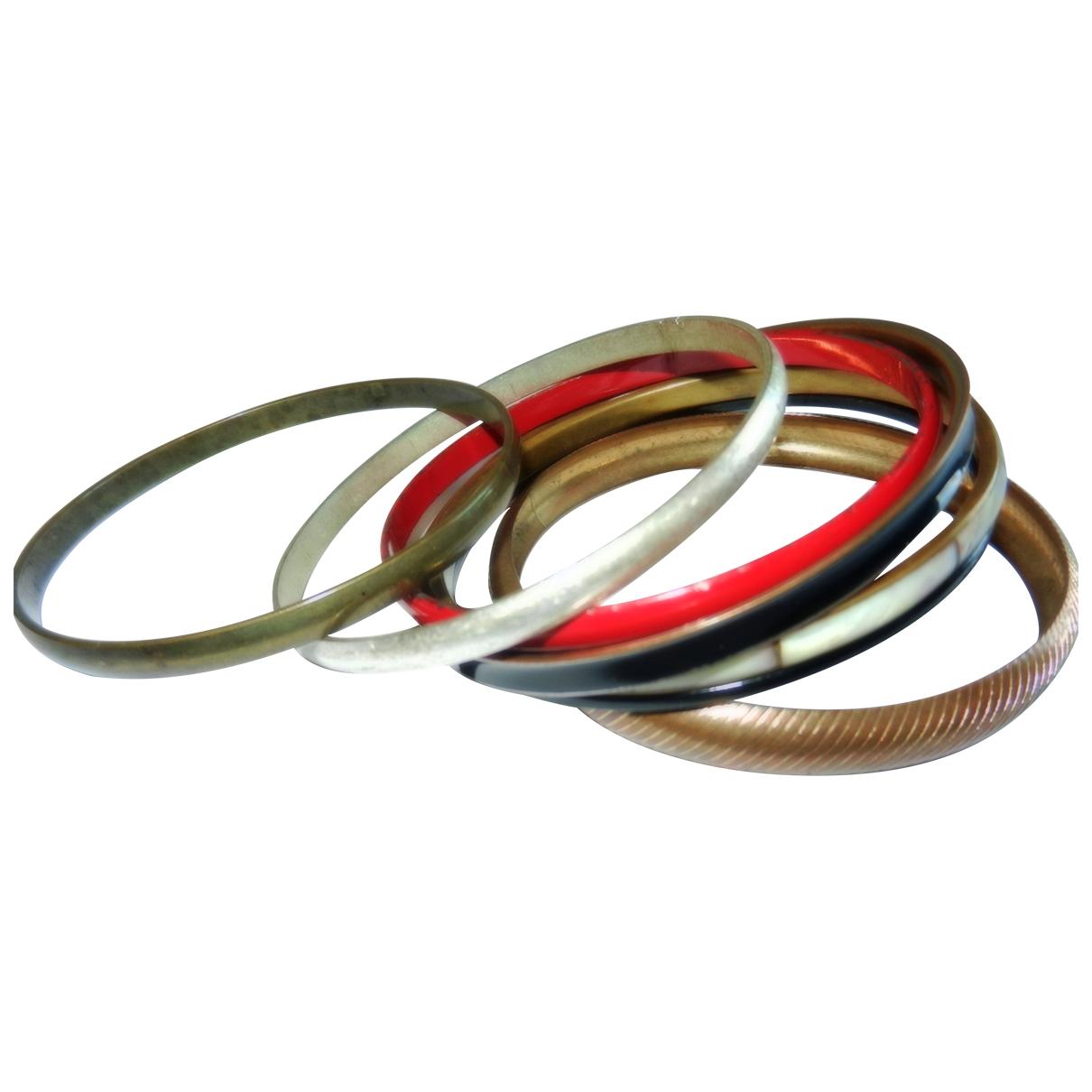 - Bracelet Jonc pour femme en metal - beige