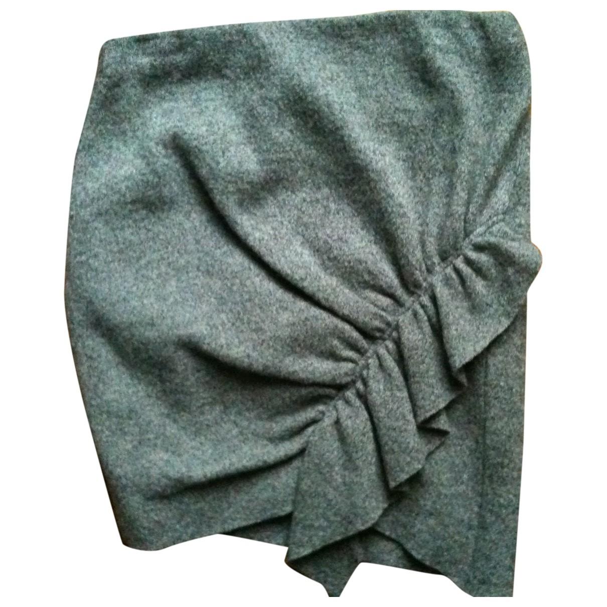 Iro - Jupe   pour femme en laine - gris