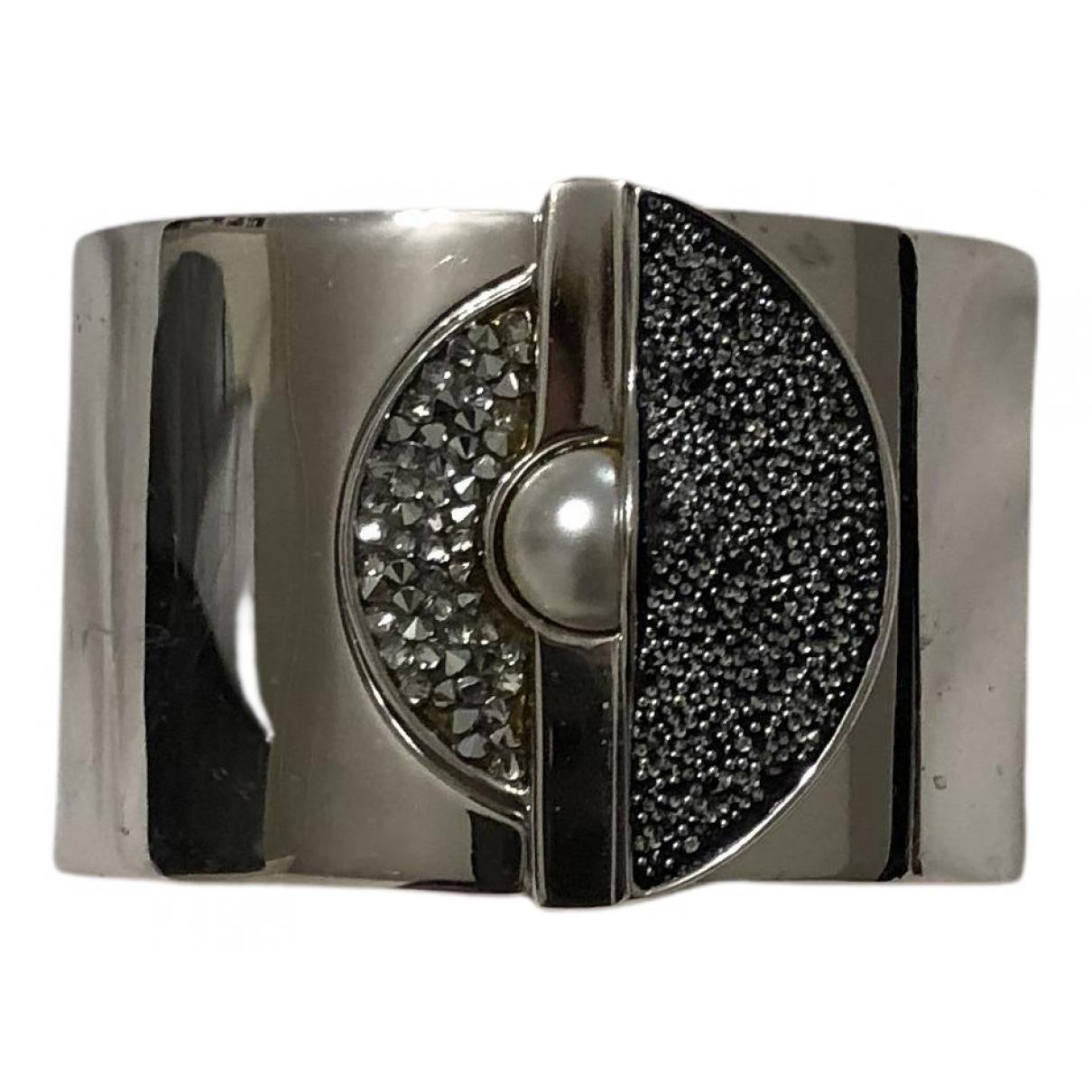 Fendi - Bracelet   pour femme en metal - argente