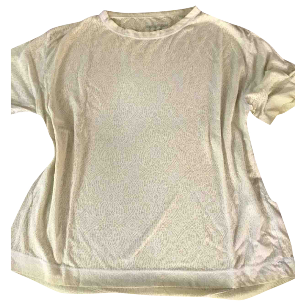 Zadig & Voltaire \N Yellow Cotton  top for Women M International