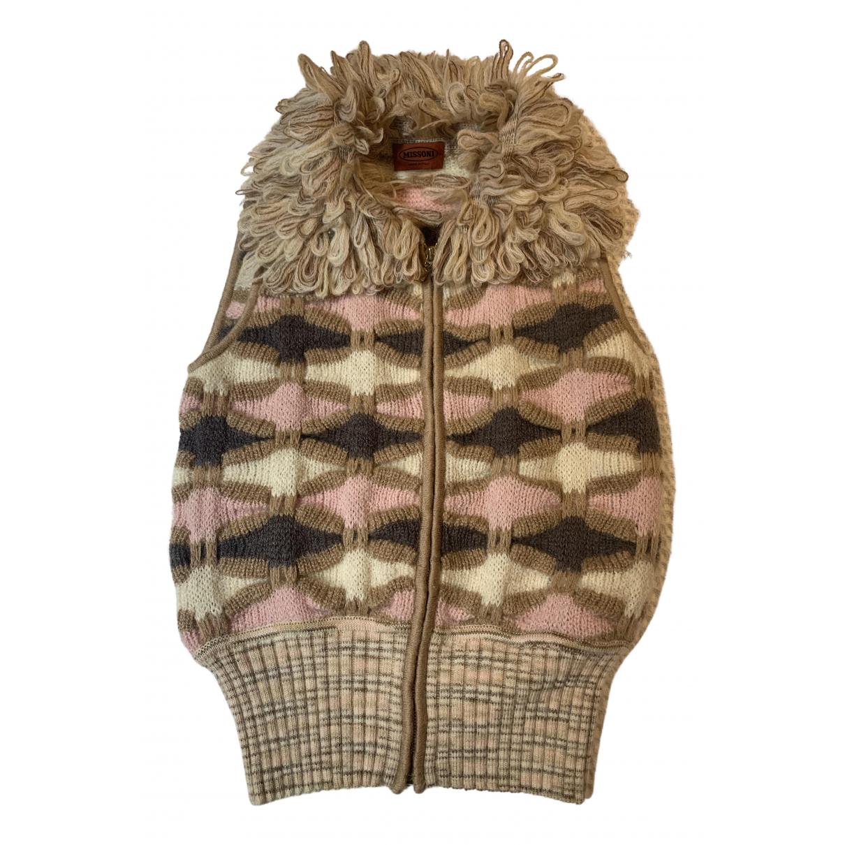 Missoni - Pull   pour femme en laine - multicolore