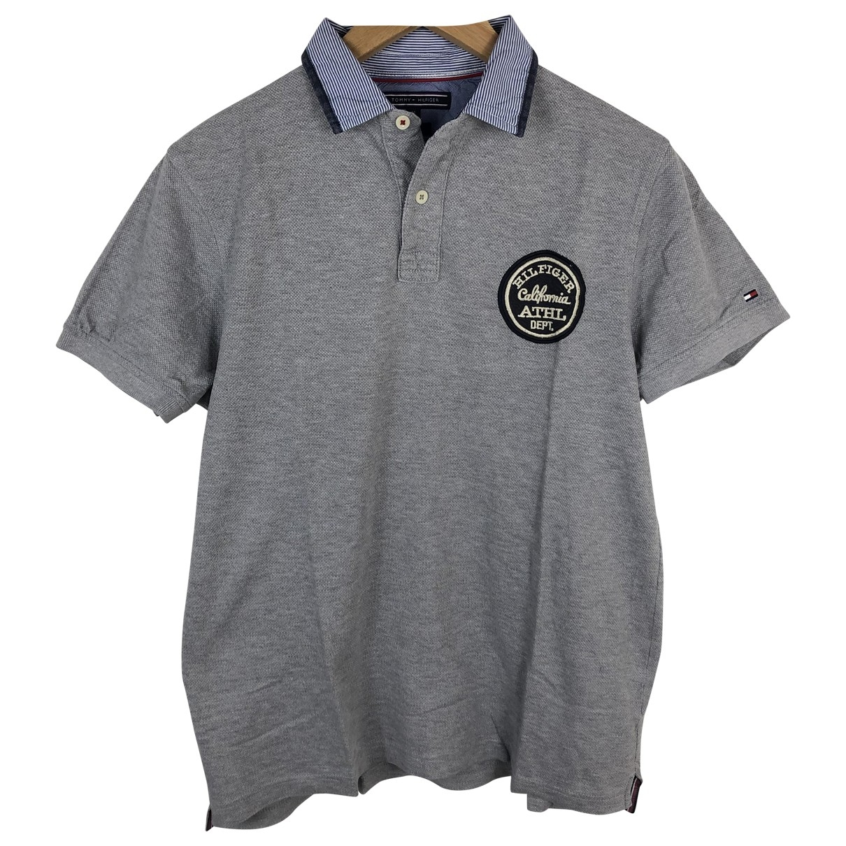 Tommy Hilfiger \N Grey Cotton Polo shirts for Men M International