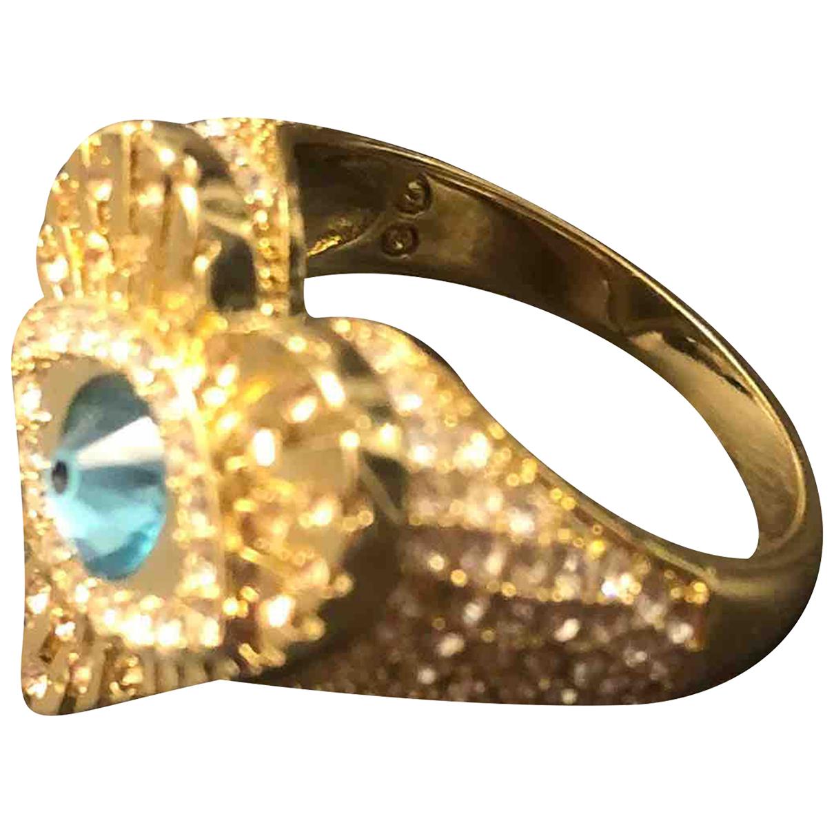 Swarovski - Bague Nirvana pour femme en plaque or - dore