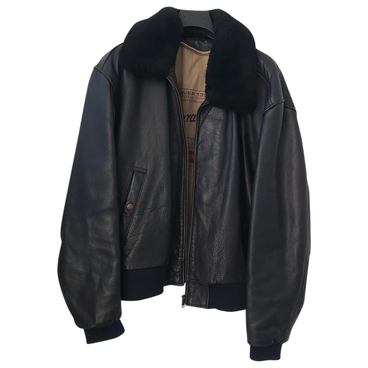 Levi's \N Black Leather jacket  for Men 48 IT