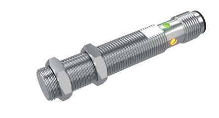 Carlo Gavazzi M18 x 1 Inductive Proximity Sensor - Barrel, PNP/NPN-NO/NC Output, 8 mm Detection, IP67, IO-Link, M12 - 4
