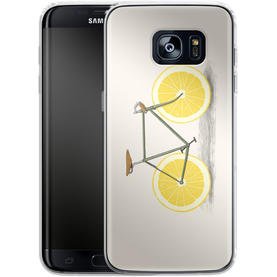 Samsung Galaxy S7 Edge Silikon Handyhuelle - Zest von Florent Bodart