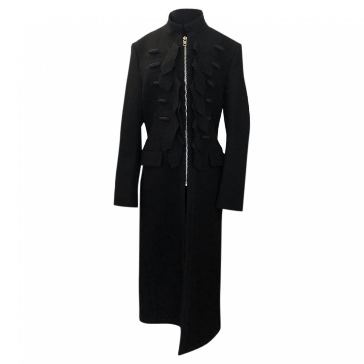 Giambattista Valli X H&m \N Black Wool coat  for Men 46 FR