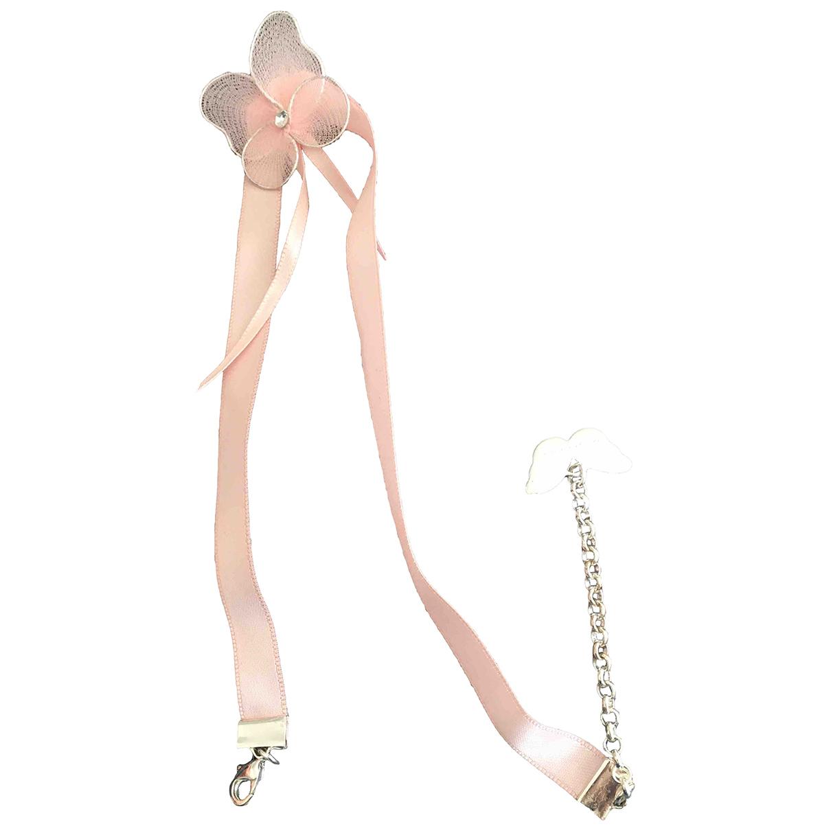 Givenchy - Collier   pour femme en toile - rose