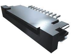 Samtec ZF1 1mm Pitch 10 Way SMT Female FPC Connector, Solder (34)