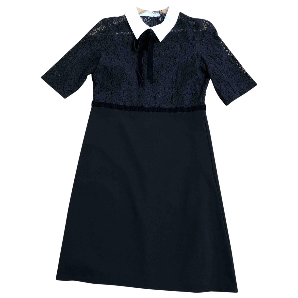The Kooples \N Black Cotton dress for Women 34 FR