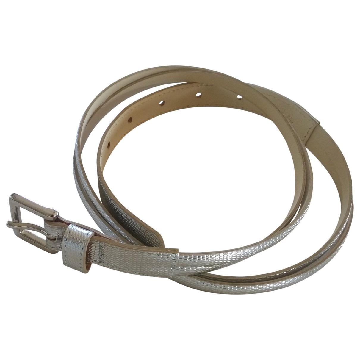 Lk Bennett \N Silver Leather belt for Women S International