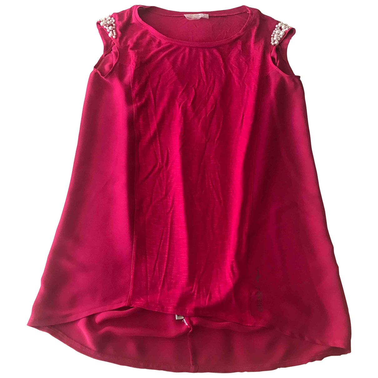 Guess \N Pink  top for Women S International