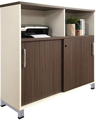 S506 Storage Cabinet 48 X 18 2 Boxes   In Driftwood And