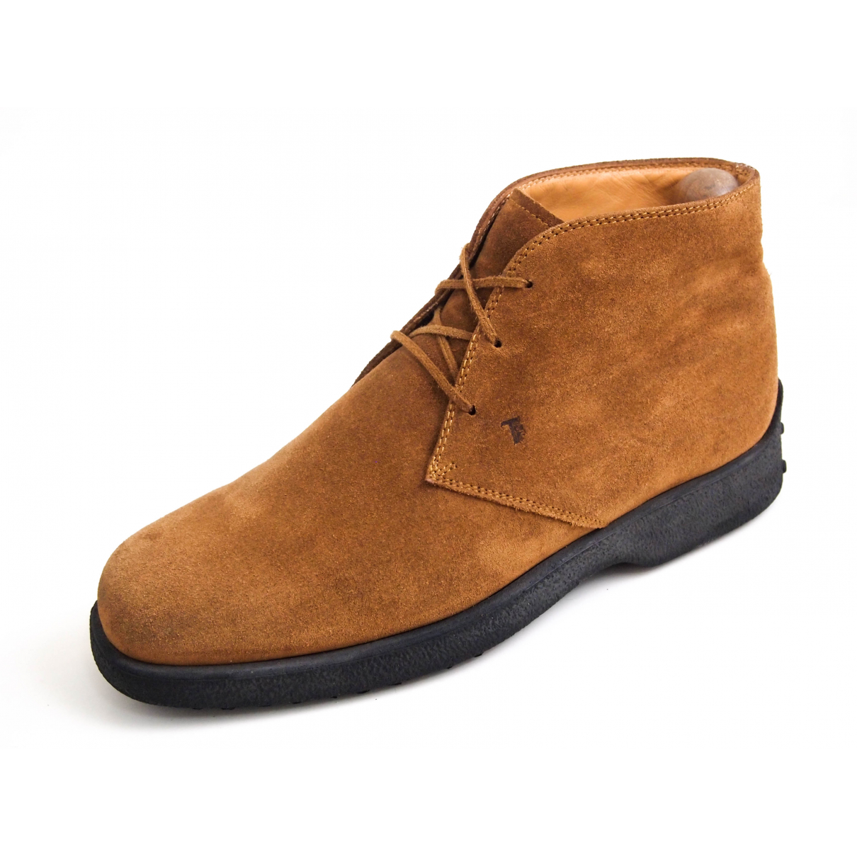 Tod's \N Brown Suede Boots for Men 43.5 EU