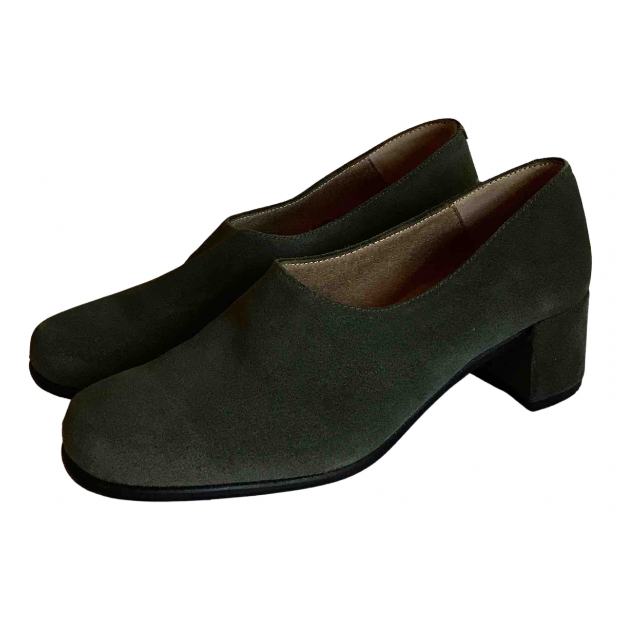 About Arianne N Green Suede Sandals for Women 40 EU