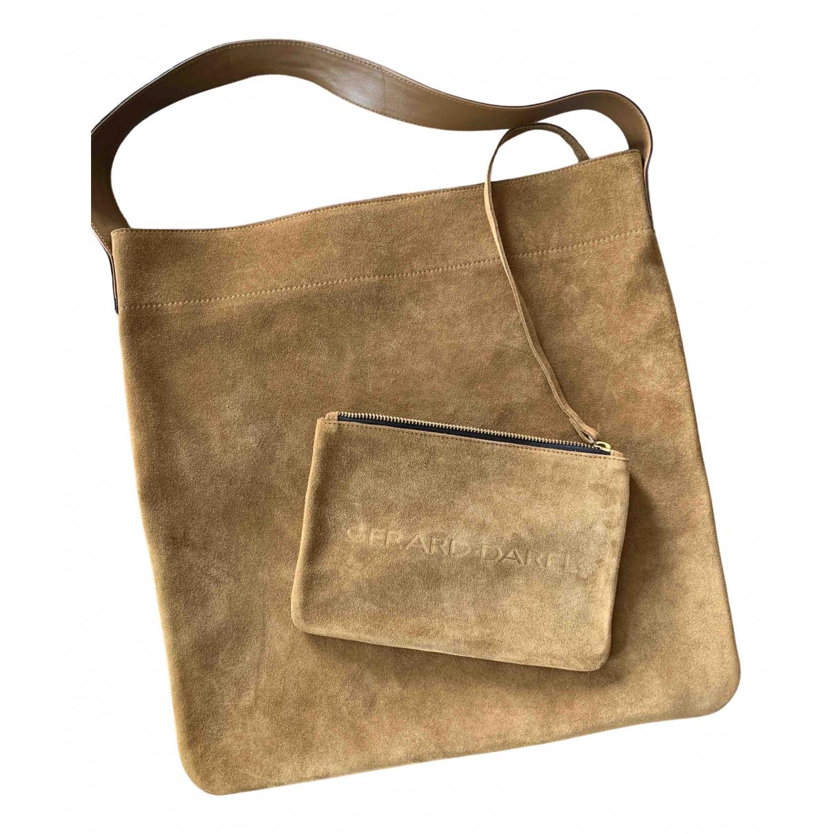 Gerard Darel \N Handtasche in  Braun Leder