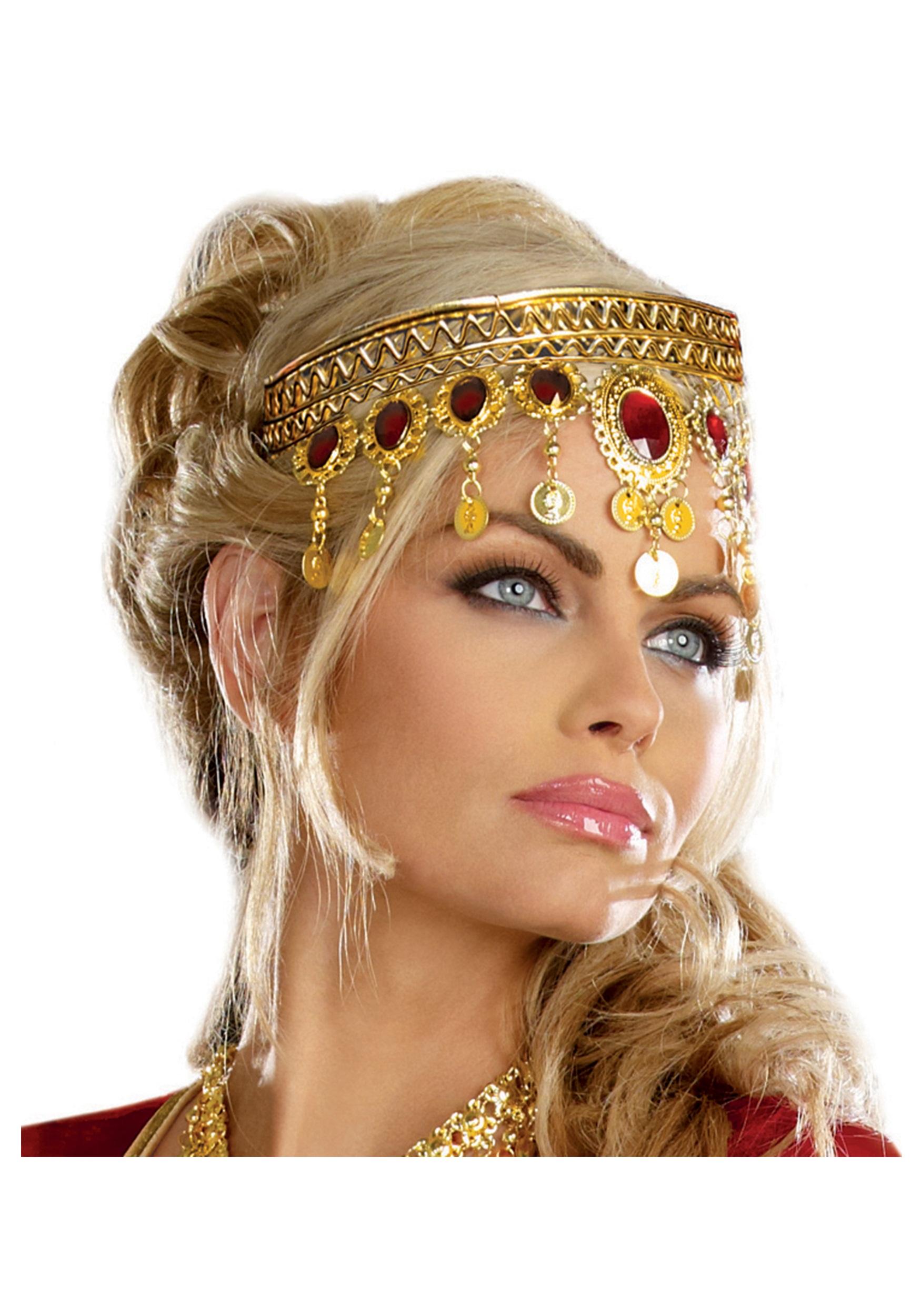Women's Dripping Rubies Headpiece