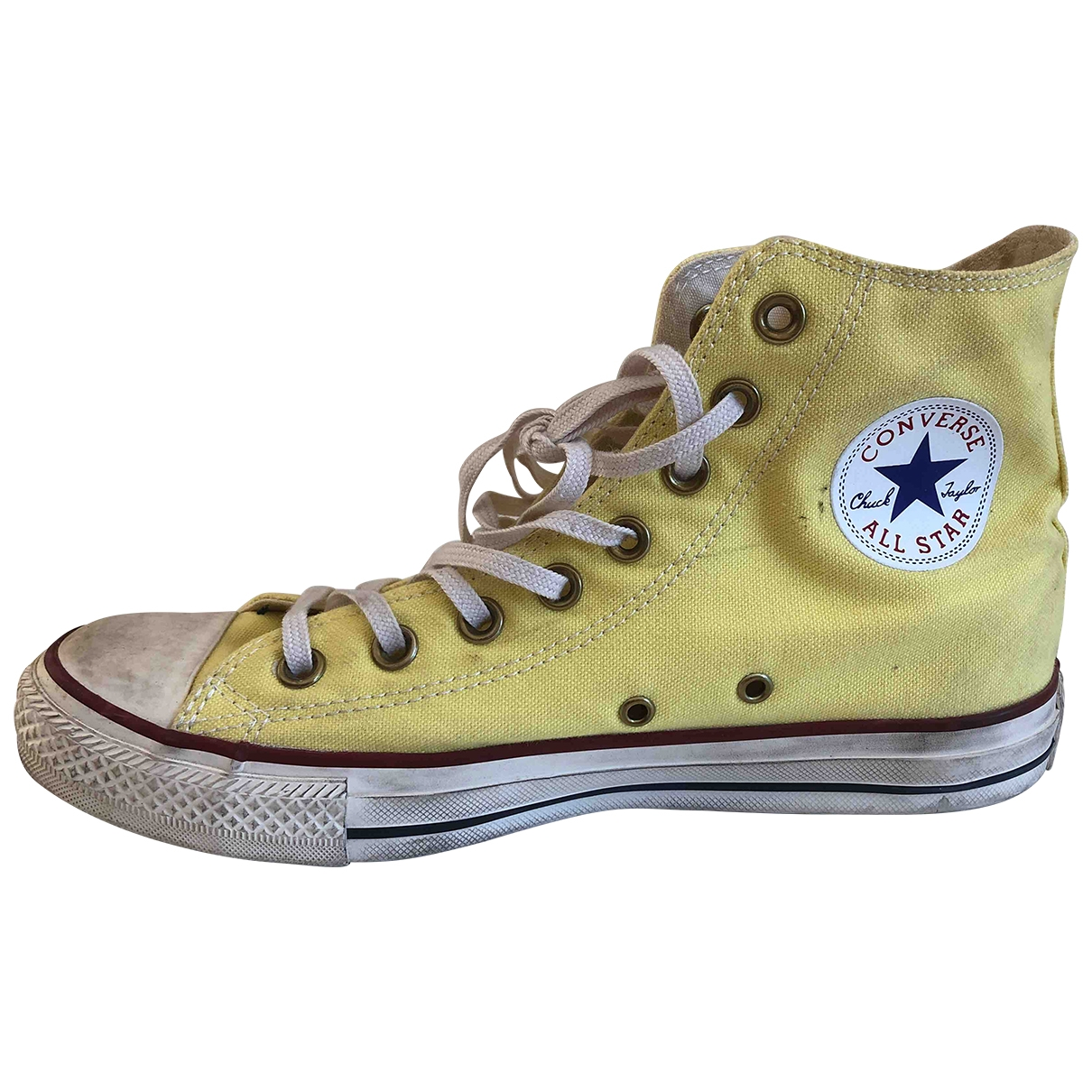 Converse \N Yellow Cloth Trainers for Women 40 EU