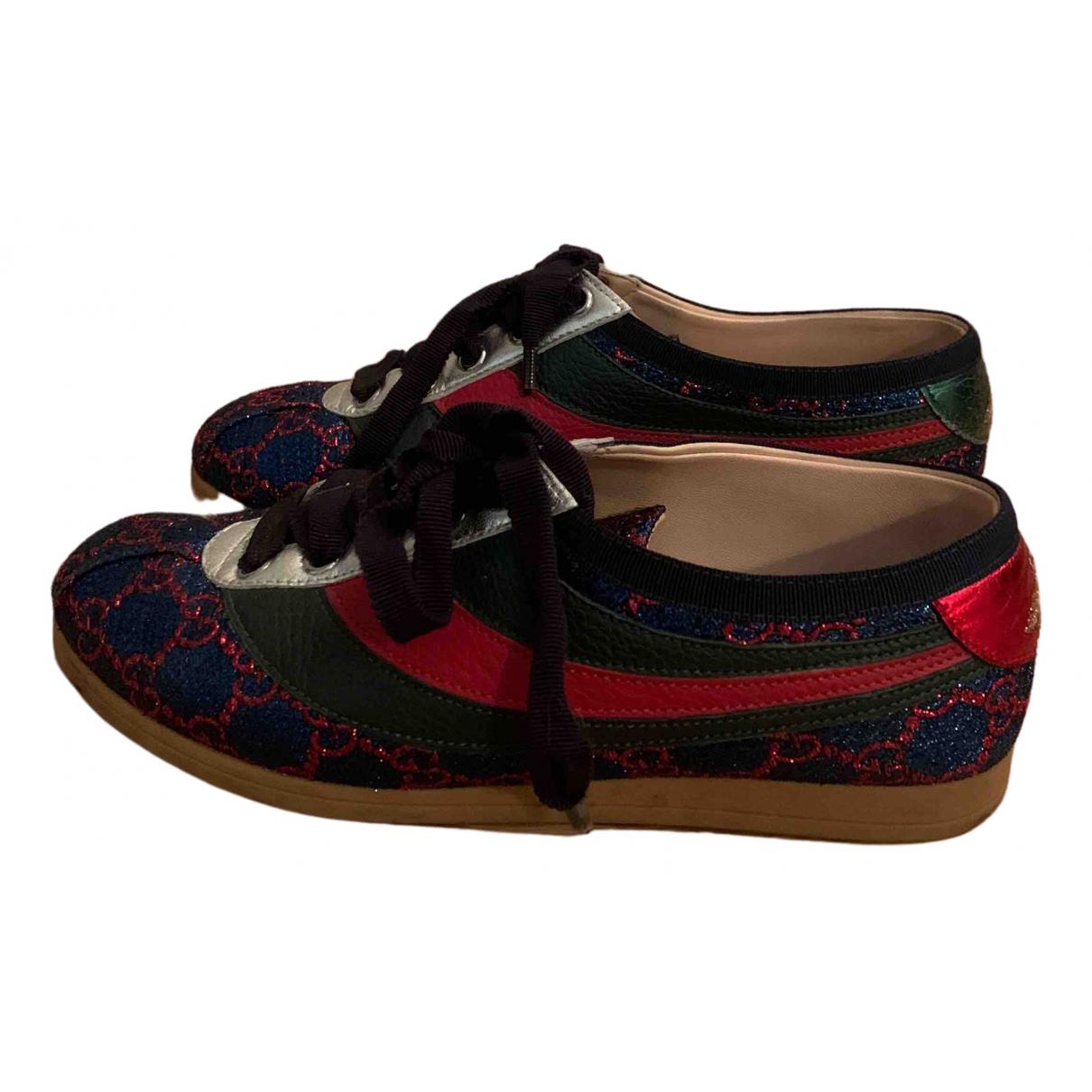 Gucci Falacer Sneakers in  Bunt Leder