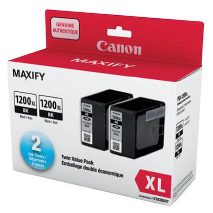 Canon PGI-1200XLBK 9183B007 réservoir encre originale noire haute capacité double pack