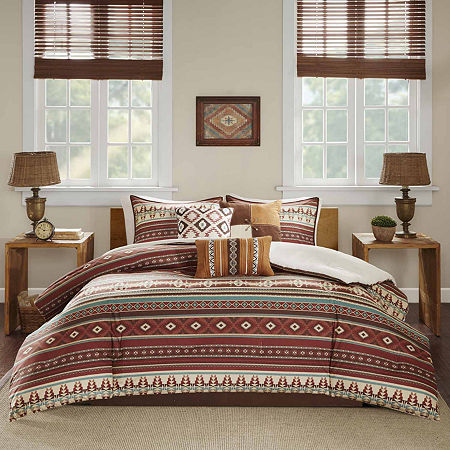 Madison Park Davy 7-pc. Comforter Set, One Size , Brown
