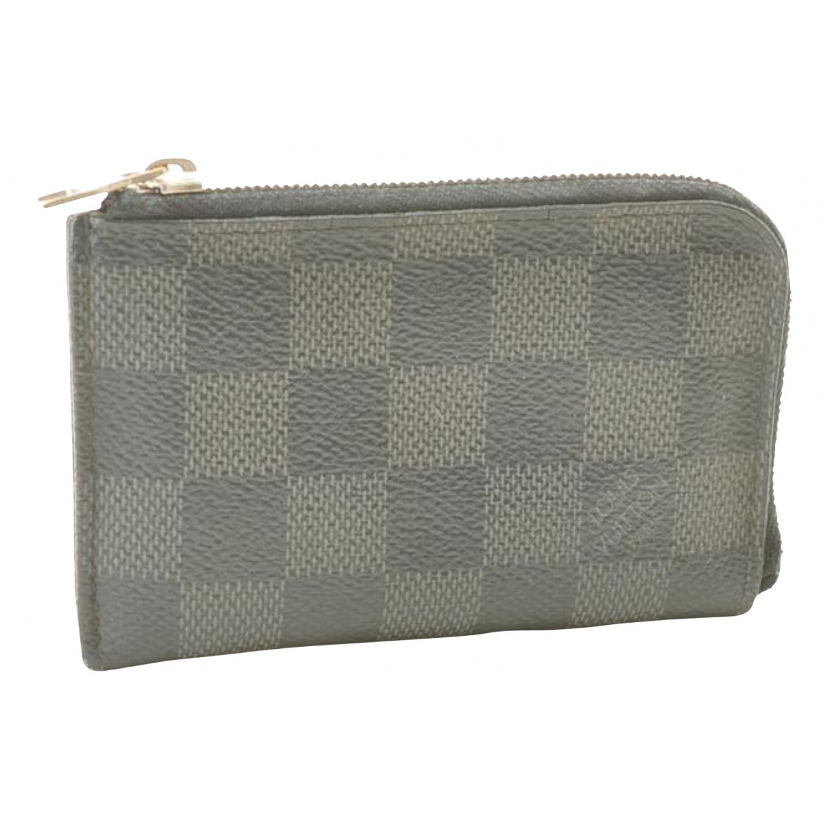 Louis Vuitton N Grey Cloth Purses, wallet & cases for Women N