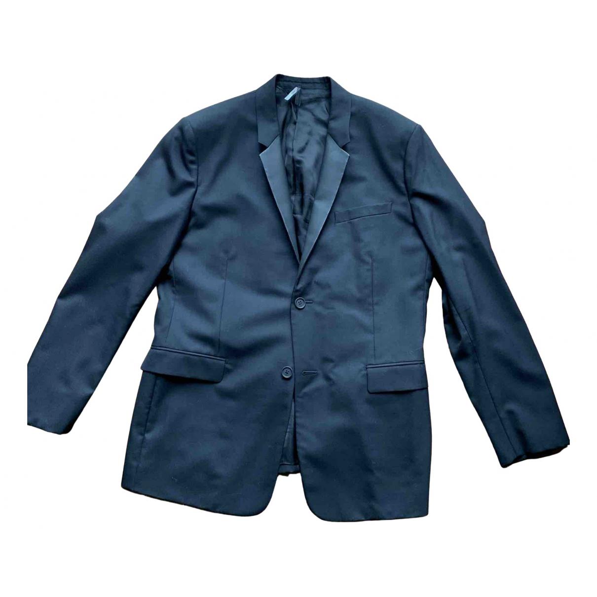 Dior Homme N Black Wool jacket  for Men 52 FR