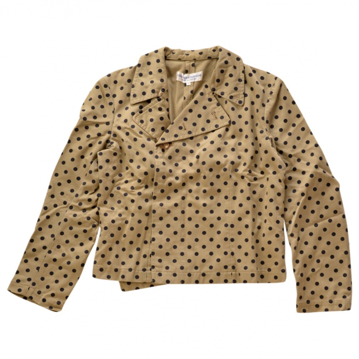 Comme Des Garcons \N Beige Cotton jacket for Women M International