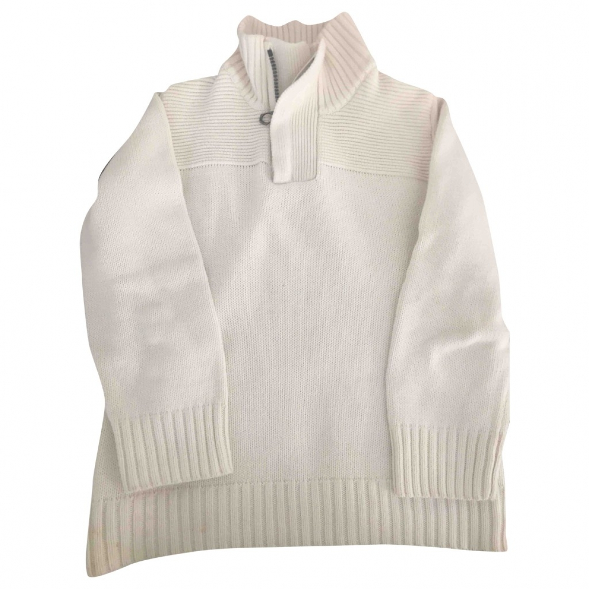 Zara \N White Cotton Knitwear for Kids 5 years - up to 108cm FR