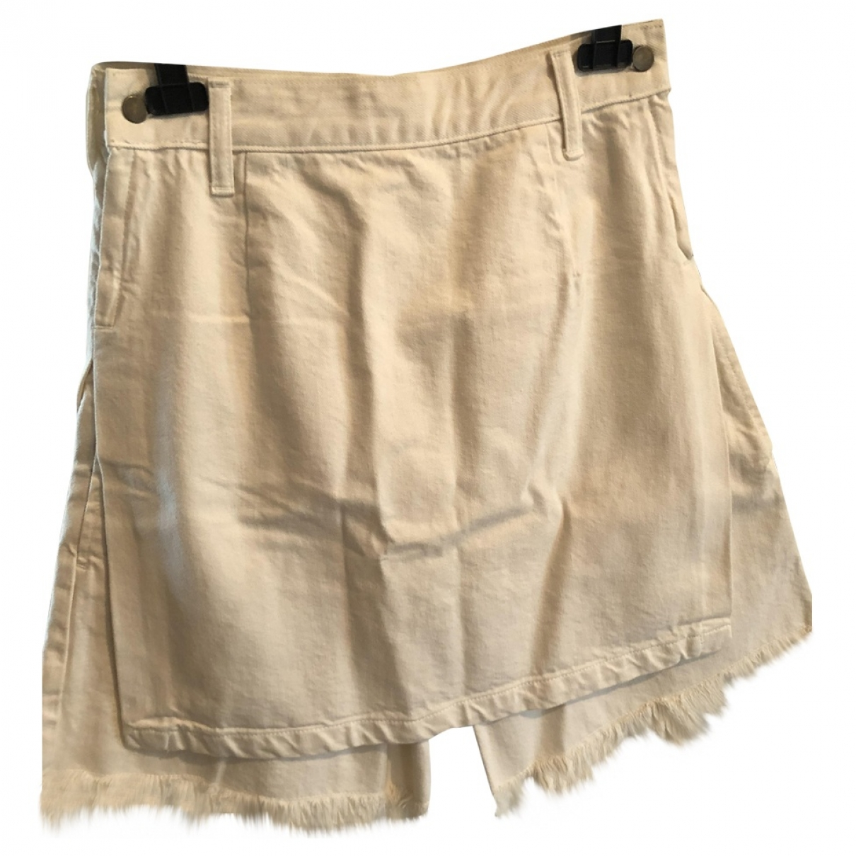 Toga Pulla \N Shorts in  Weiss Denim - Jeans