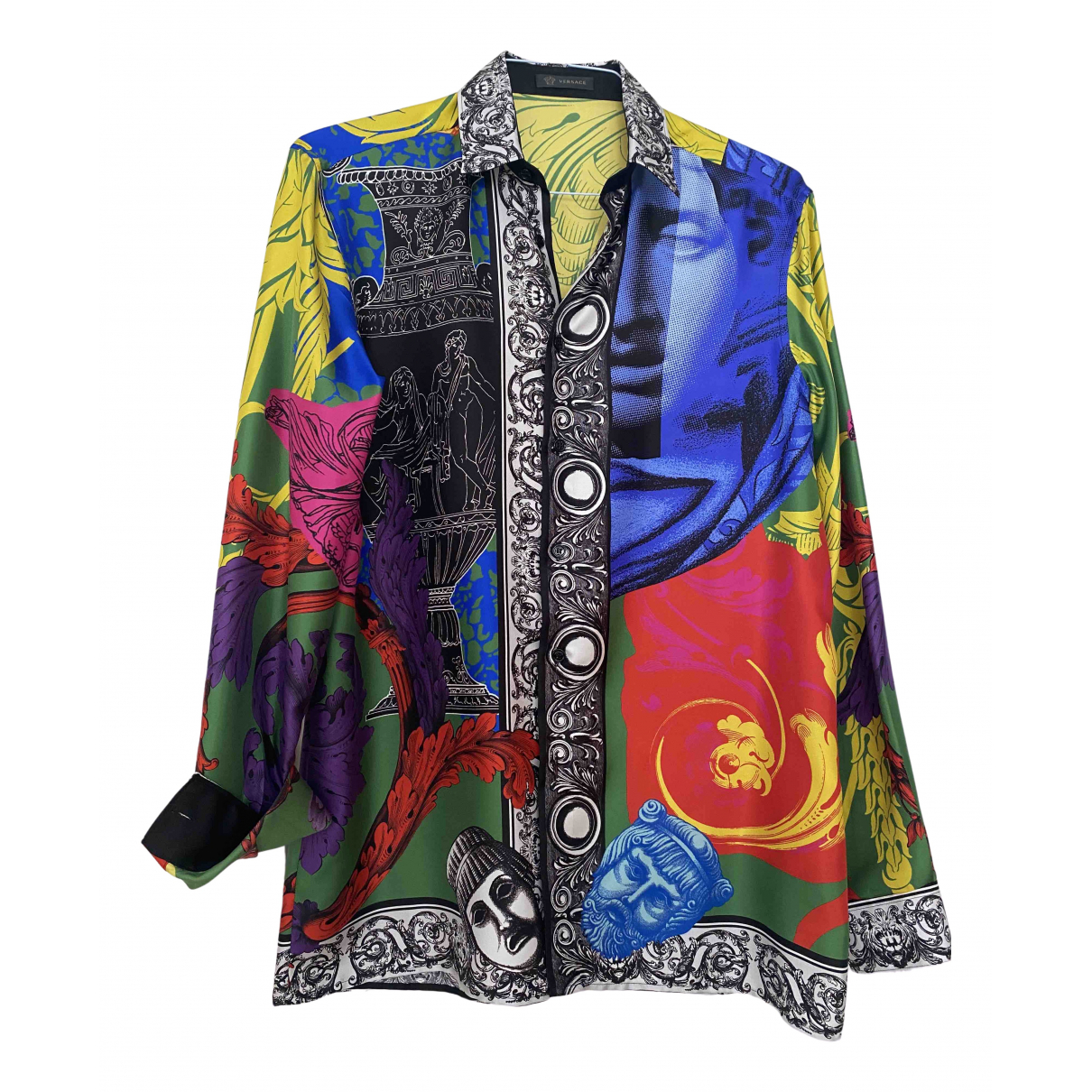 Versace \N Multicolour Silk Shirts for Men M International