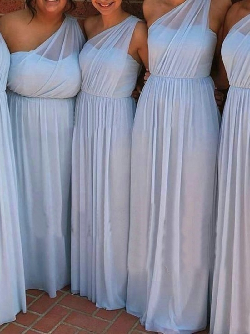 Ericdress One Shoulder A-Line Bridesmaid Dress