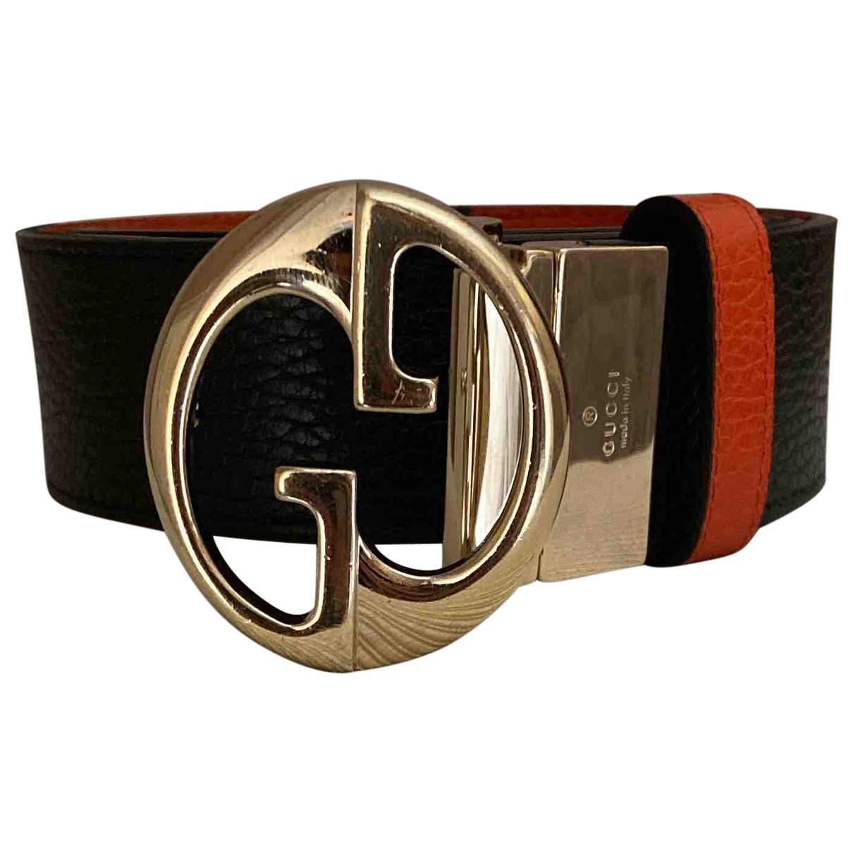 Gucci - Ceinture Interlocking Buckle pour femme en cuir - multicolore