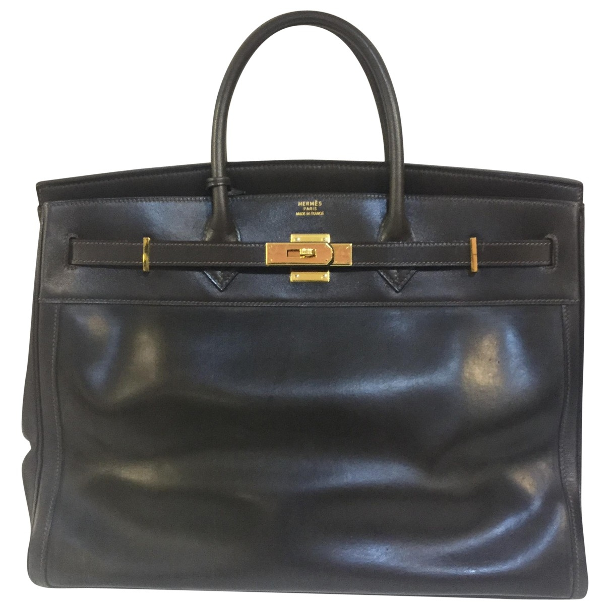 Hermès Birkin 40 Brown Leather handbag for Women \N