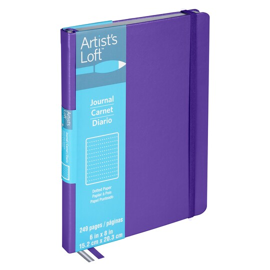 8 Pack: Purple Dot Journal By Artist's Loft™ | Michaels®