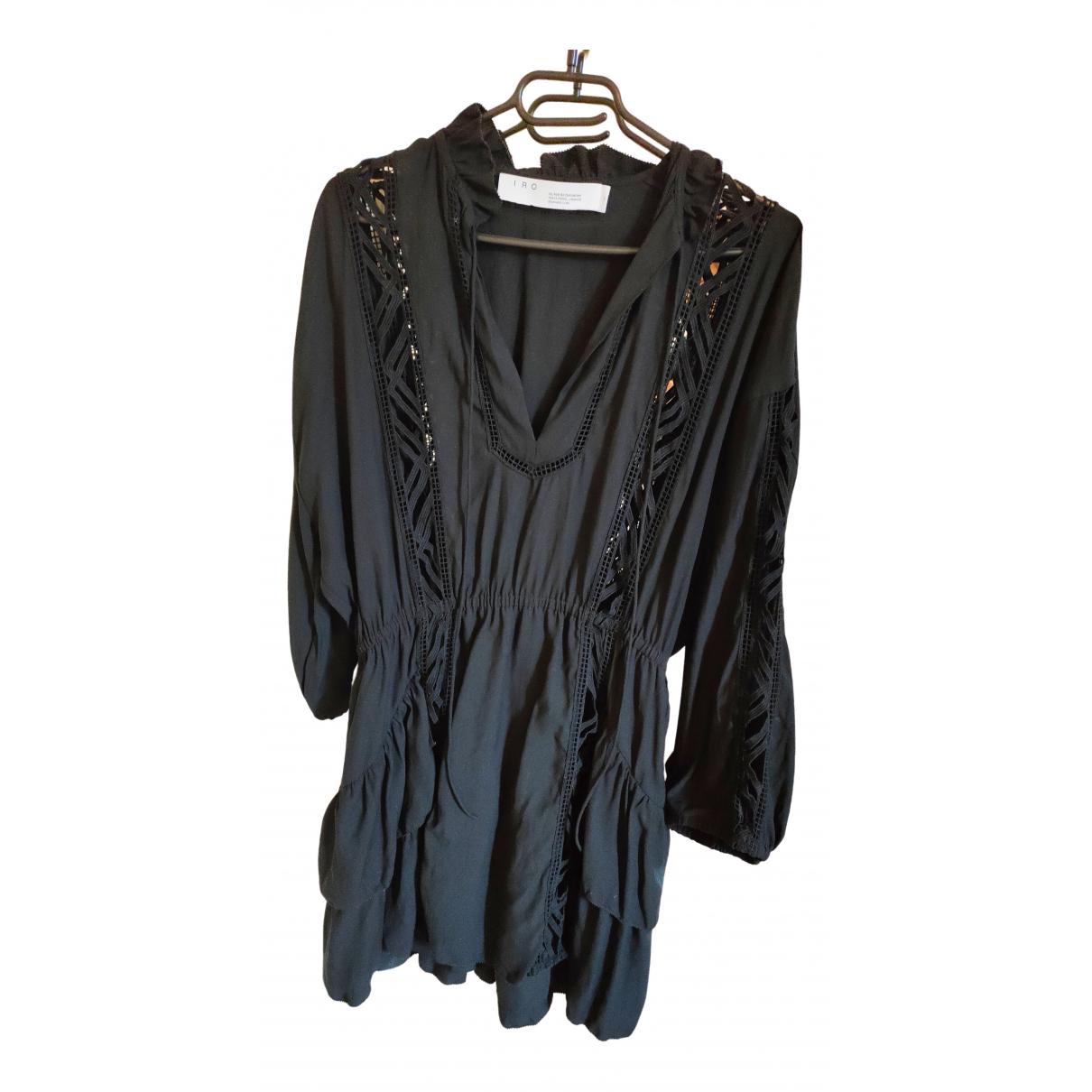 Iro Fall Winter 2019 Black Cotton dress for Women 34 FR