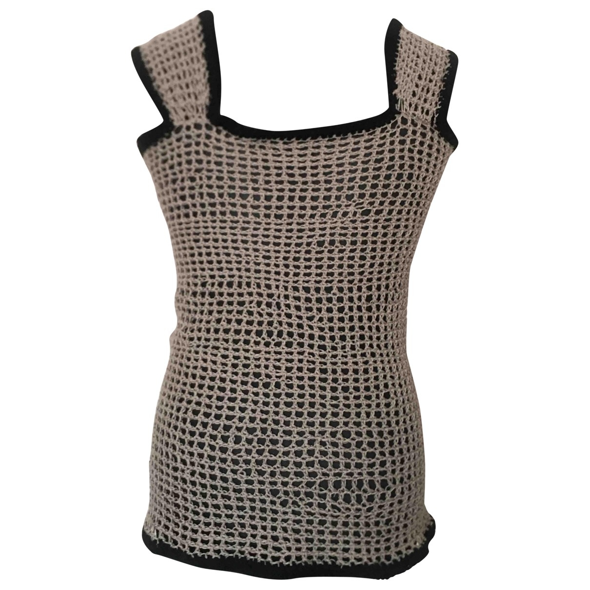 Non Signé / Unsigned \N Brown Wool Knitwear for Women One Size FR