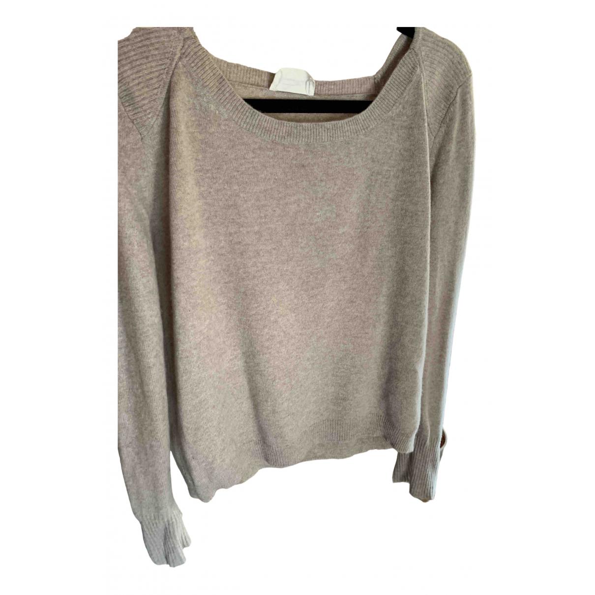 American Vintage \N Pullover in  Beige Wolle