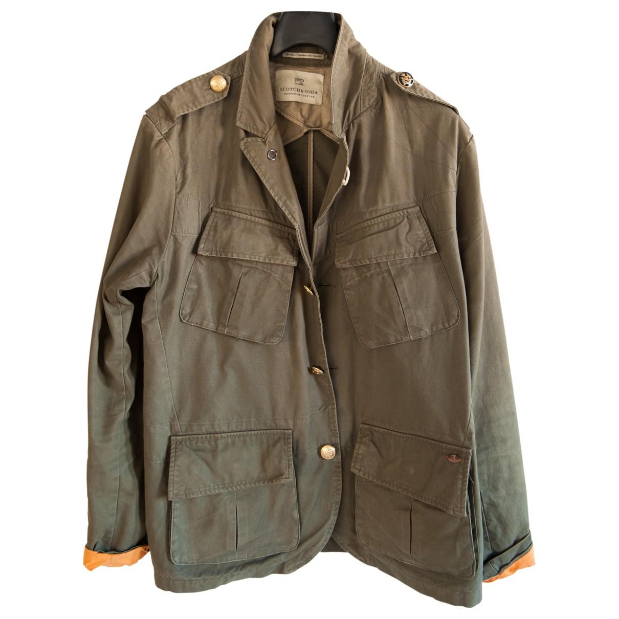 Scotch & Soda \N Green Cotton jacket  for Men L International