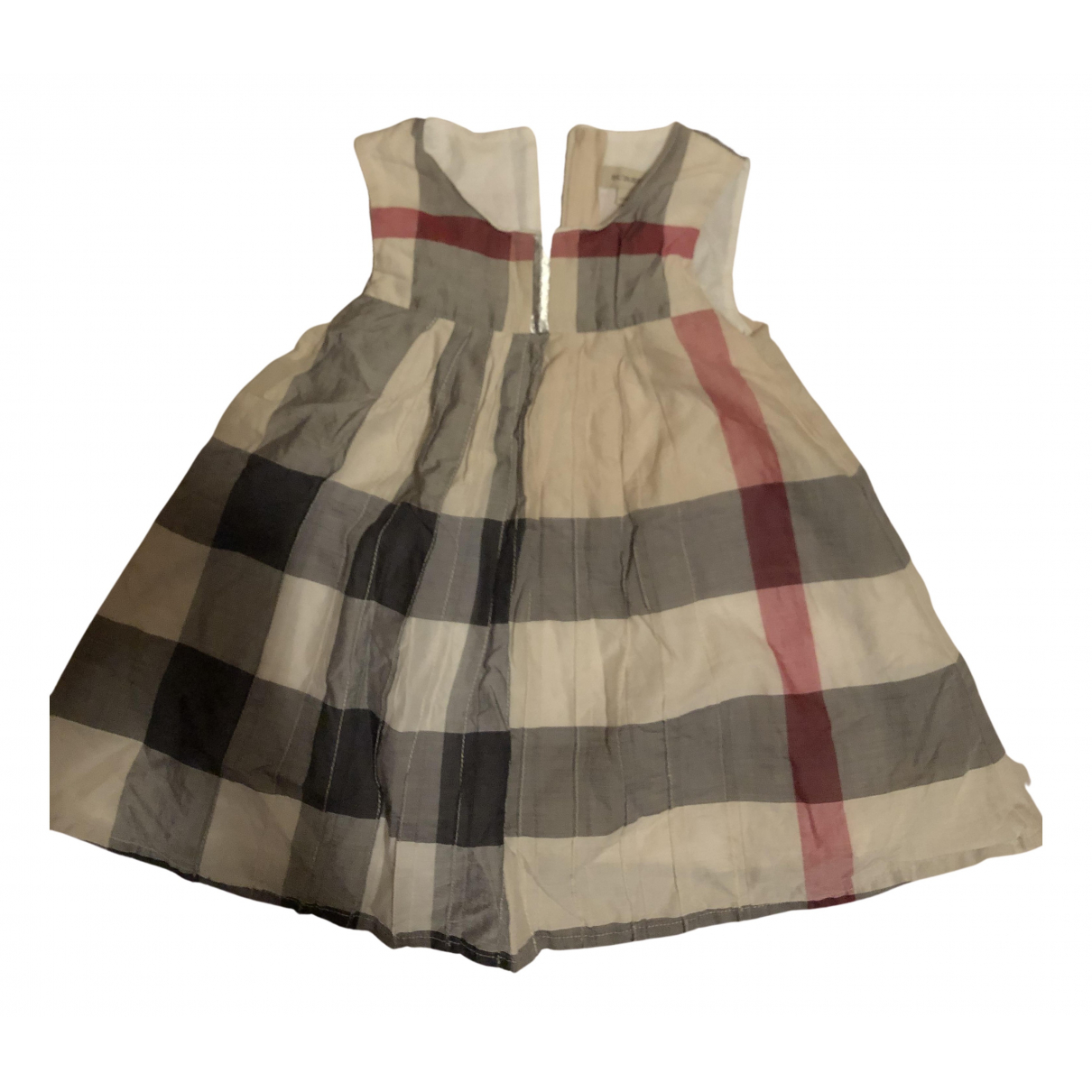 Burberry \N Kleid in  Bunt Baumwolle