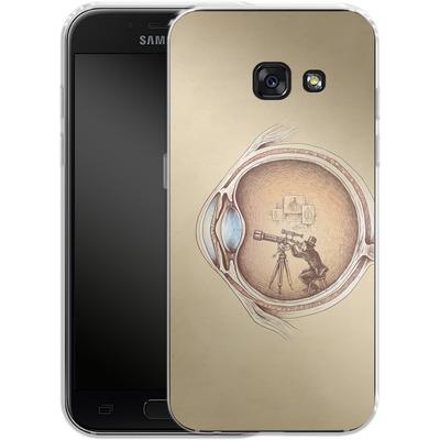 Samsung Galaxy A3 (2017) Silikon Handyhuelle - Extraordinary Observer von Enkel Dika
