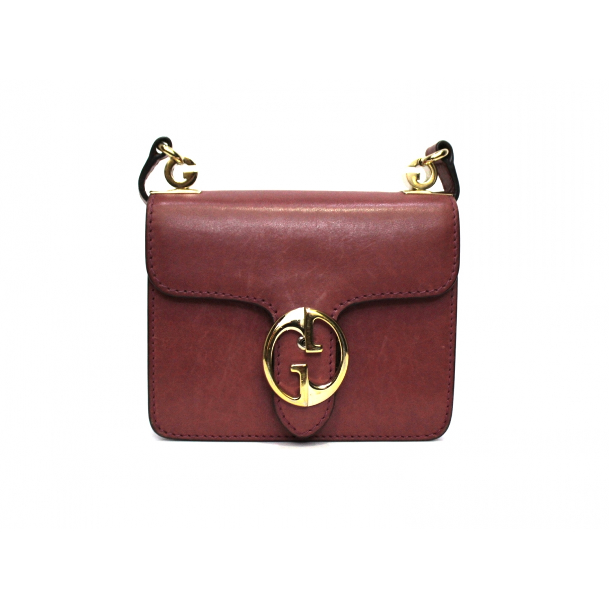 Gucci 1973 Pink Leather handbag for Women \N
